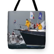 Hectic Finish Tote Bag