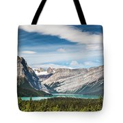 Hector Lake, Canadian Rockies Tote Bag
