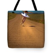 Heel Clicks On The Washboard Tote Bag