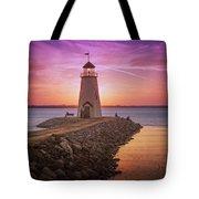 Hefner Lighthouse Tote Bag
