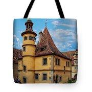 Hegereiterhaus Rothenburg Ob Der Tauber Tote Bag