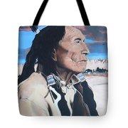 Hehaka Sapa Black Elk Tote Bag