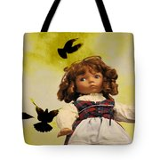 Heidi And The Birds Tote Bag