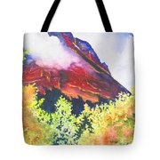 Heights Of Glacier Park Tote Bag