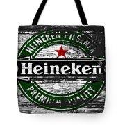 Heineken Beer Wood Sign 1f Tote Bag