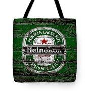 Heineken Beer Wood Sign 2 Tote Bag