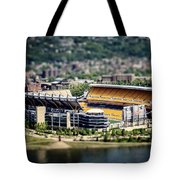 Heinz Field Pittsburgh Steelers Tote Bag