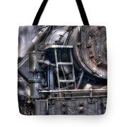 Heisler Steam Engine Tote Bag