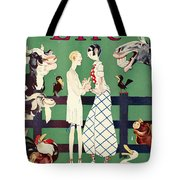 Held: Magazine Cover, 1926 Tote Bag by Granger