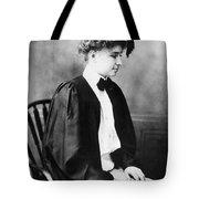 Helen Keller (1880-1968) Tote Bag
