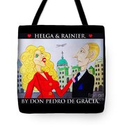 Helga Loves Rainier Tote Bag