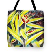 Heliconia 2 Tote Bag