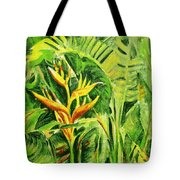 Heliconia 8 Tote Bag