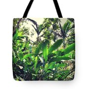 Heliconia Cluster Tote Bag