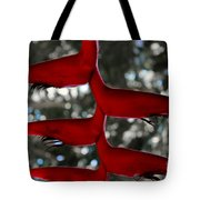 Heliconia Flowering Plant Tote Bag