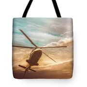 Helicopter Tote Bag by Bob Orsillo
