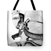 Helicopter Pilot Tote Bag