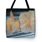 Helicopter Reflection Tote Bag