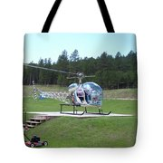 Helicopter Ride South Dakota Tote Bag