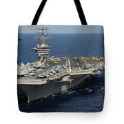 Helicopter's Approaches The Flight Deck Tote Bag