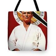 Helio Gracie - Famed Brazilian Jiu-jitsu Grandmaster Tote Bag