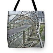 Helix Bridge Tote Bag