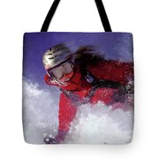 Hell Bent For Powder Tote Bag