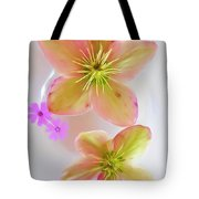 Hellebore Flower Art Tote Bag