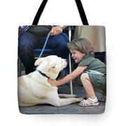Hello Dog Tote Bag