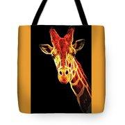 Hello Giraffe Tote Bag