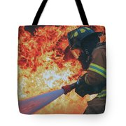 Hell's Acre  Tote Bag