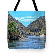 Hells Canyon Dam  Tote Bag