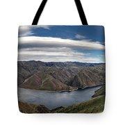Hells Canyon Panoramic Tote Bag