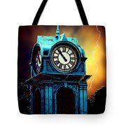 Hells Timeclock Tote Bag