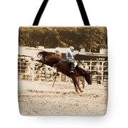 Helluva Rodeo-the Ride 4 Tote Bag