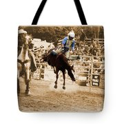 Helluva Rodeo-the Ride 5 Tote Bag