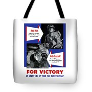Help Him Help Yourself  Tote Bag