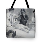 Help Tote Bag by Kevin Daly