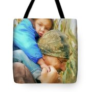 Helping Hand Tote Bag