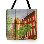 Helping Up Mission Tote Bag