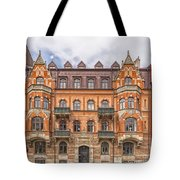 Helsingborg Building Facade Tote Bag