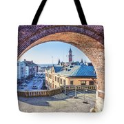 Helsingborg Through The Archway Tote Bag