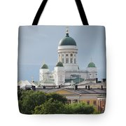 Helsinki Cathedral Tote Bag