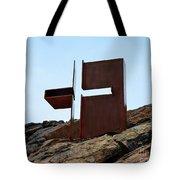 Helsinki Rock Church Cross Tote Bag