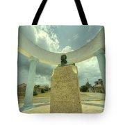 Hemingway Memorial  Tote Bag