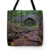 Hemlock Bridge Tote Bag