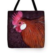 Hen Chicken, Digital Paint Tote Bag