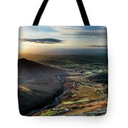 Hen Mountain From Spelga Tote Bag
