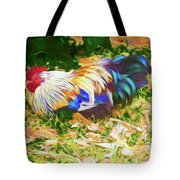 Hen With Chick Tote Bag