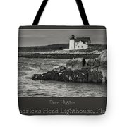 Hendricks Head Lighthouse, Maine Tote Bag